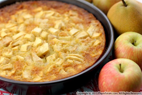 Apple Pear Cake Recipe Recipe