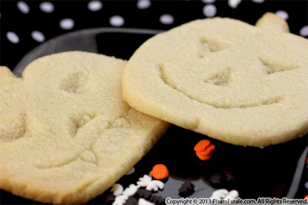 Jack O'Lantern Halloween Cookies Recipe