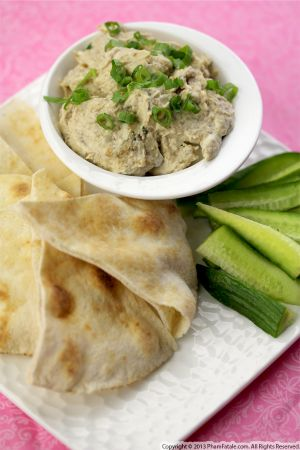 Roasted Whipped Eggplant Dip Recipe