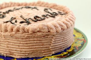 Cranberry Jam Buttercream Cake Recipe