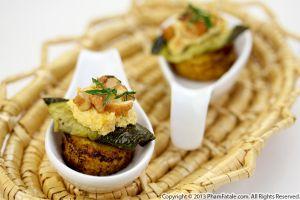 Butternut Squash Polenta Appetizers