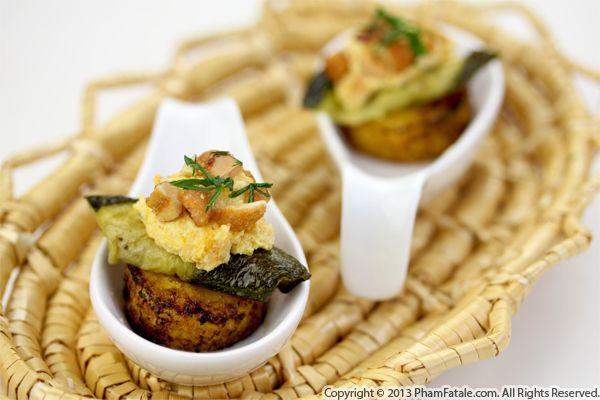 Butternut Squash Polenta Appetizers Recipe