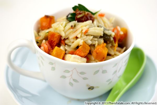 Roasted Butternut Squash Orzo Recipe Recipe