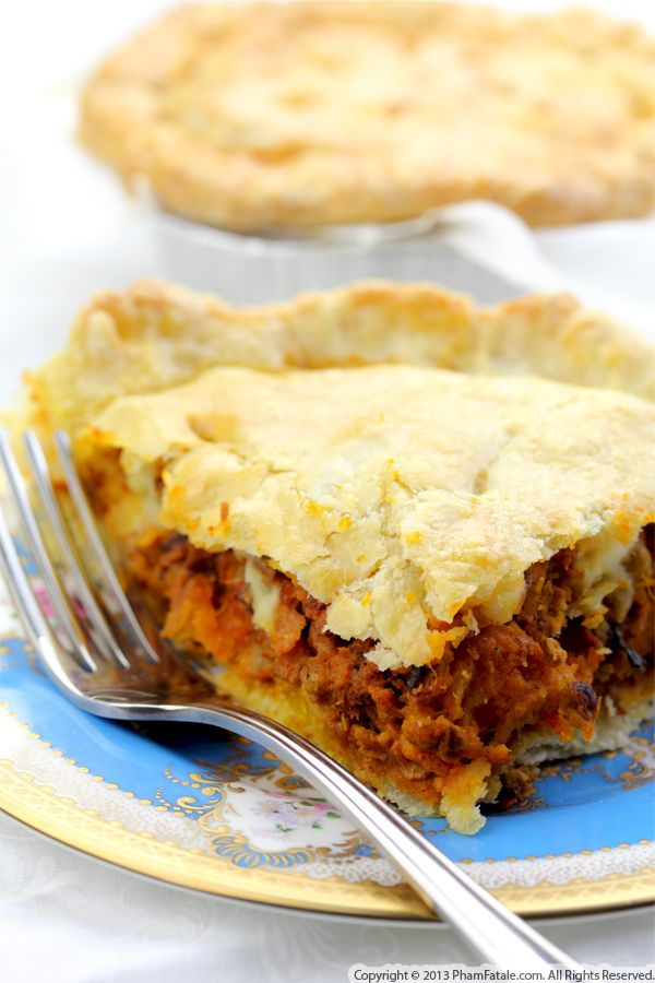 Pumpkin Pot Pie Recipe Recipe