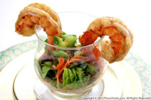 Festive Shrimp Salad Recipe