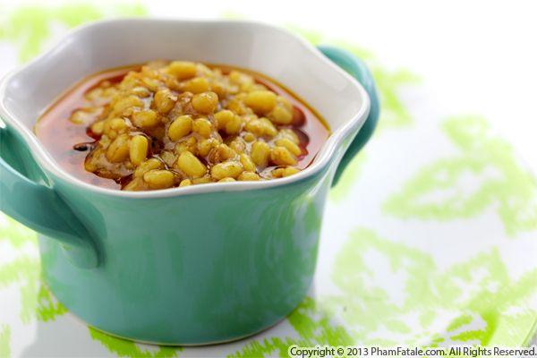 Mash Ki Daal (Spiced Pearled Barley Recipe) Recipe