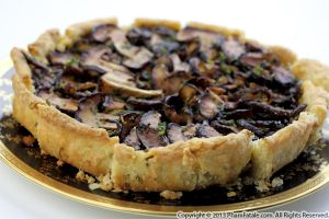 Asian-inspired Mushroom Tart Recipe