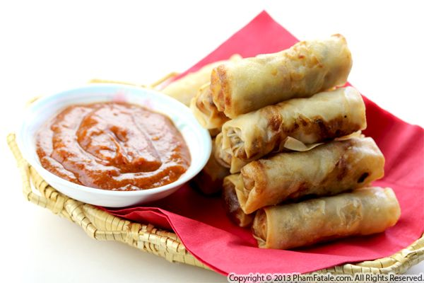 Shrimp and Crab Eggrolls (Cha Gio Recipe) Recipe