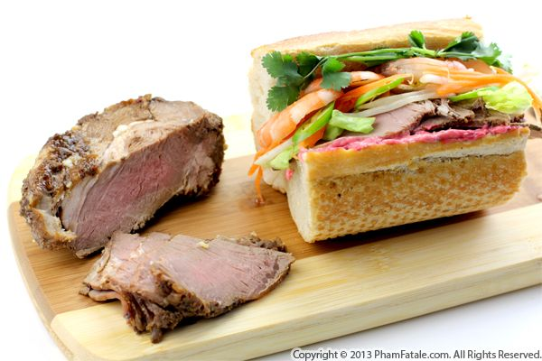 Roasted Lamb Banh Mi Recipe Recipe