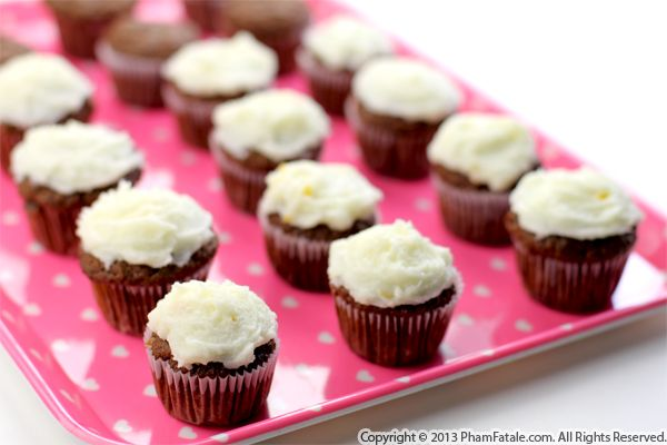 Cocoa Carrot and Earl Grey Cupcakes Recipe