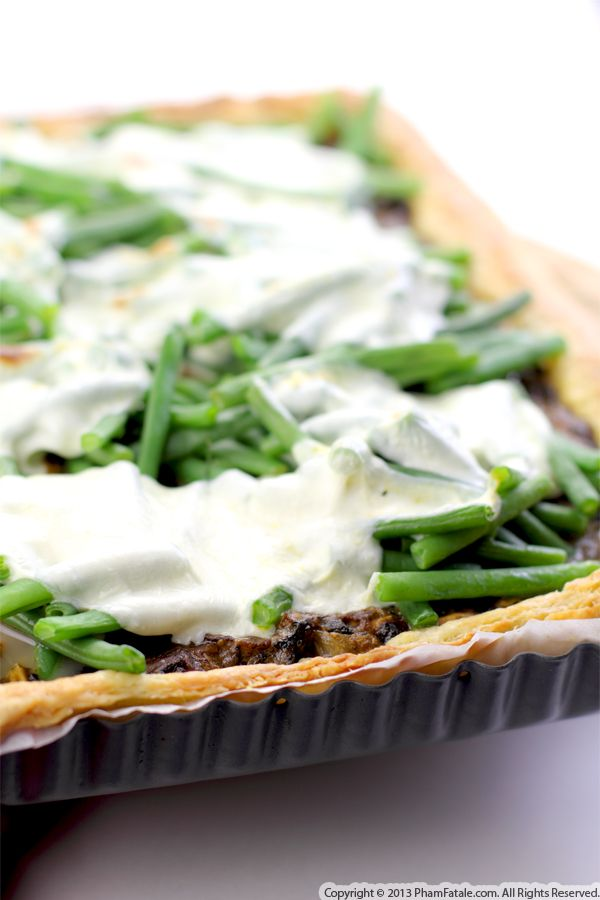 Green Bean and Fennel Tart Recipe Recipe