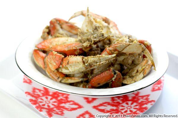 Vietnamese Crab Recipe: Cua Xao Sate Recipe