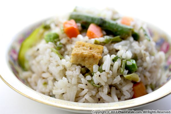 Tofu Fried Rice Recipe Recipe