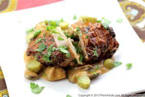 Bell Pepper Stuffed Chicken Rolls