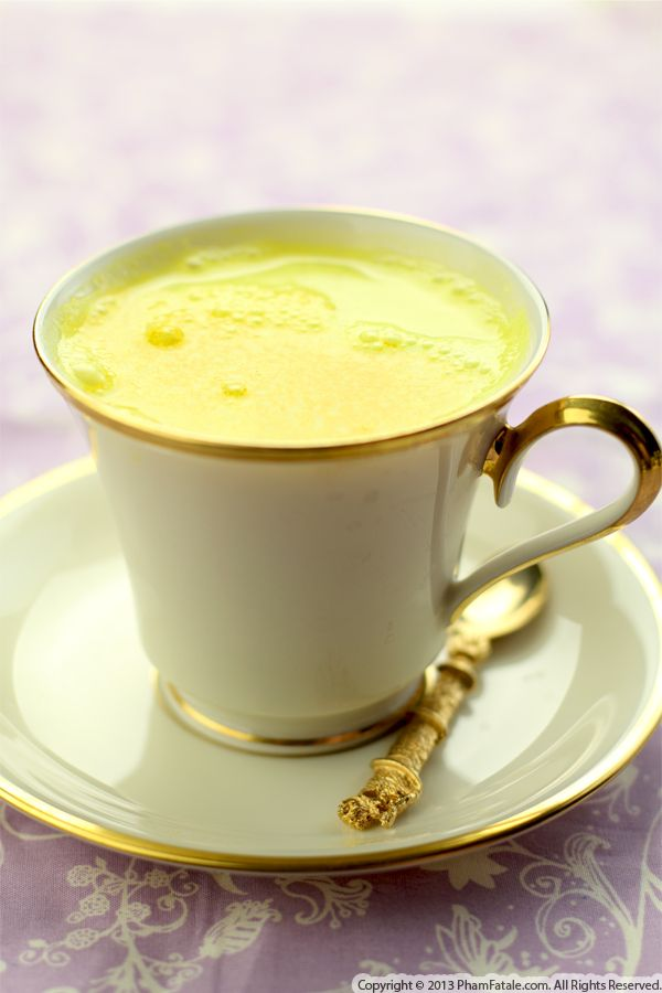 Turmeric Latte Recipe Recipe