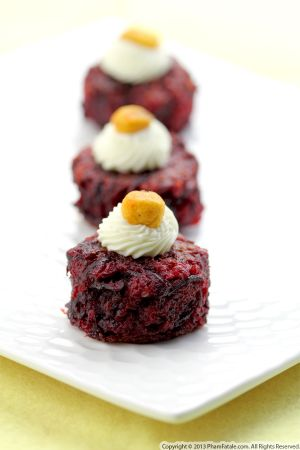 Beet Polenta Appetizer Recipe