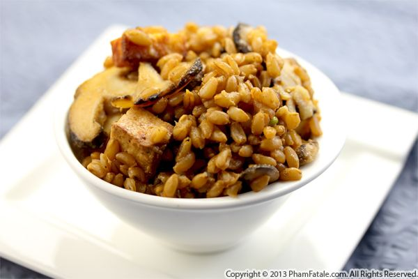 Wild Mushroom Farro Recipe Recipe