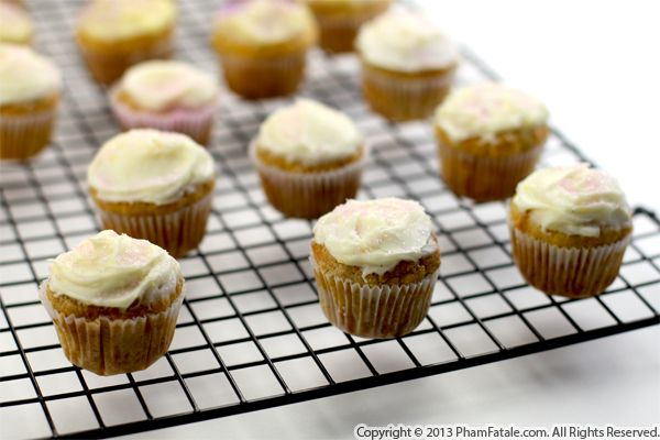 Lemon Mini Cupcake Recipe Recipe