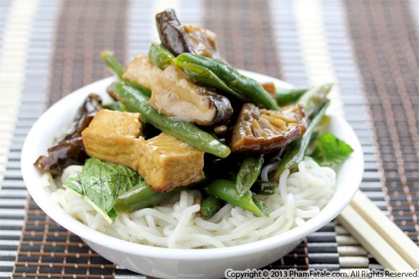 Black Mushroom Tofu Recipe Recipe