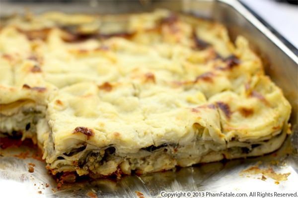 Eggplant Lasagna Recipe Recipe