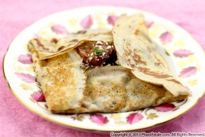 Glazed Pearl Onion Crepe Recipe