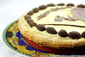 Almond Chocolate Cookie Cake Pie Recipe