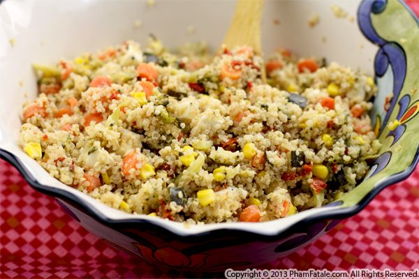 Picnic Quinoa Salad Recipe Recipe