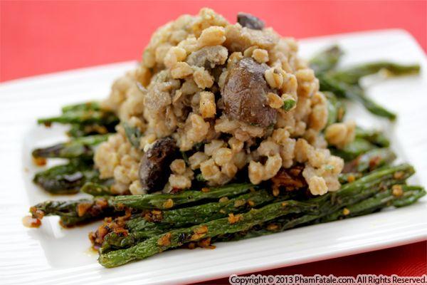 Mushroom Barley Risotto Recipe Recipe