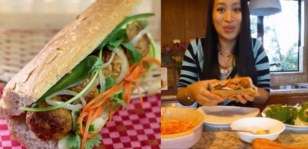 How to Assemble a Banh Mi Sandwich Recipe