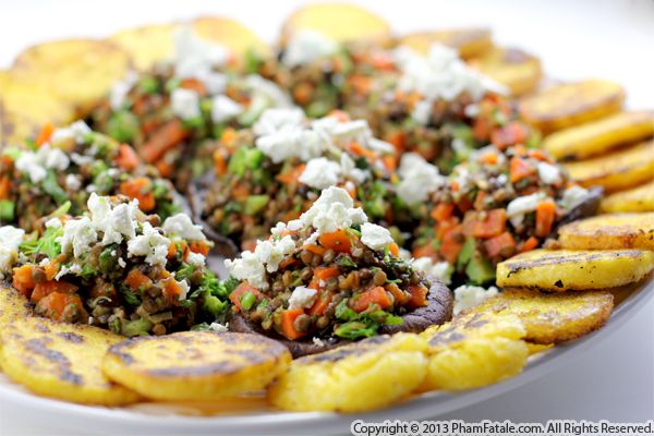 Lentil Stuffed Portobello Mushroom Recipe Recipe
