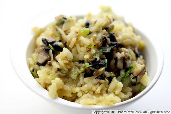 Gourmet Mushroom Risotto Recipe Recipe