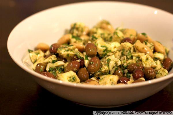 Italian Corona Bean Salad Recipe Recipe