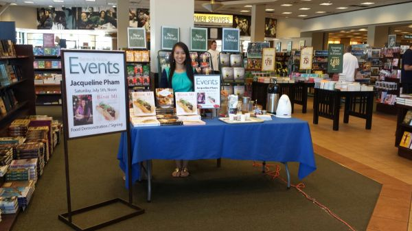 Demo and Book Signing at Barnes and Noble East Ridge Mall Location Recipe