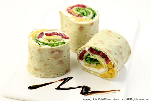Summer Salad Wrap Recipe with Picture