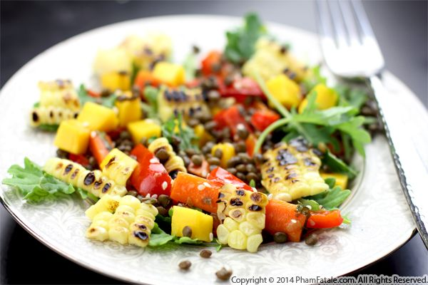 Asian-Inspired Charred Corn Salad Recipe