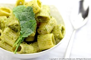 Kale Walnut Pesto Mezze Penne Pasta Recipe