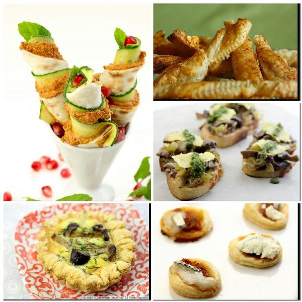 5 Quick and Easy Party Food Ideas Recipe