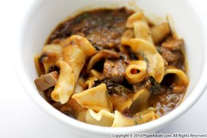 Wine-Braised Chuck Roast with Pasta