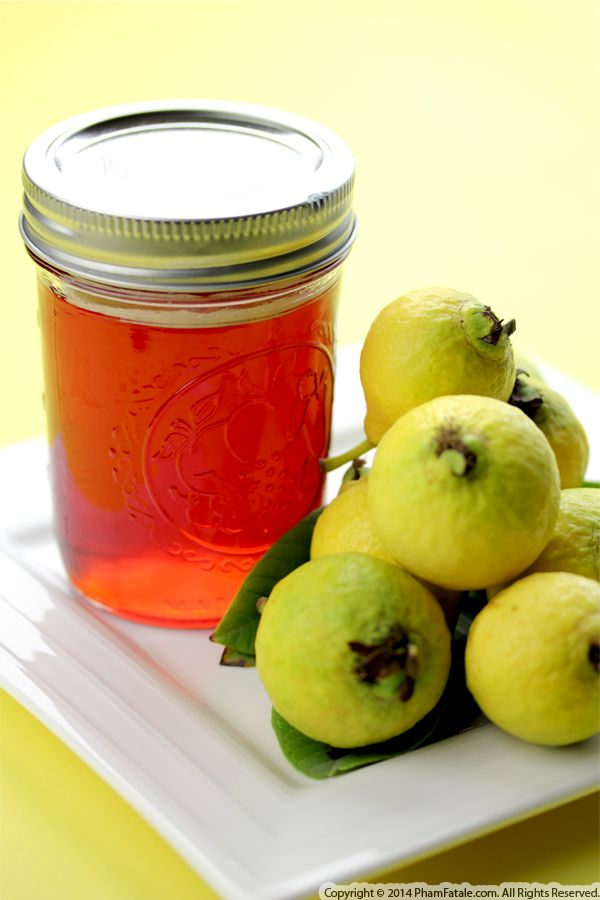 Homemade Guava Jelly Recipe Recipe