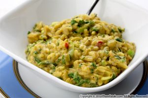 Risotto with Collard Greens