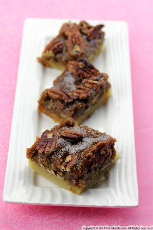 Pecan Squares Recipe