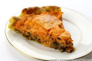 Vegetarian Yam Pie Recipe