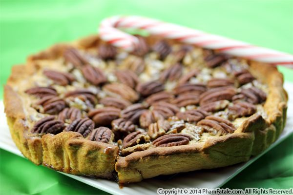 Peppermint Bark Pecan Pie Recipe Recipe