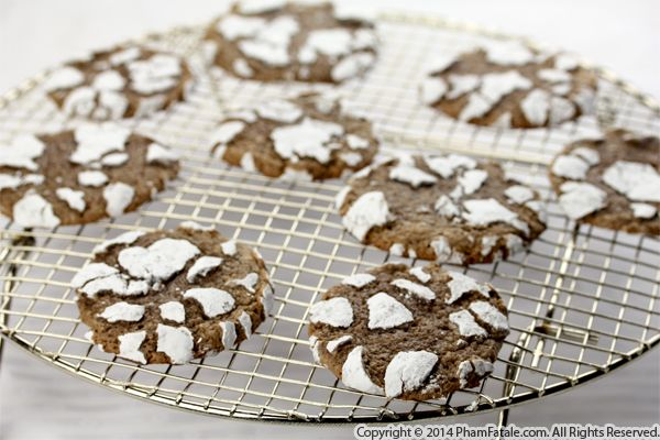 Chocolate Crackle Cookie Recipe with Picture