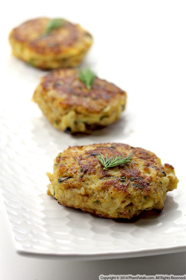 Artichoke Crab Cakes Recipe