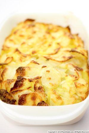 Zucchini Potato Gratin (Gratin Dauphinois aux Courgettes)