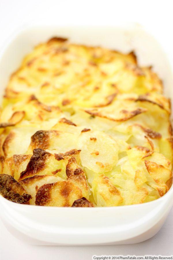 Zucchini Potato Gratin (Gratin Dauphinois aux Courgettes) Recipe