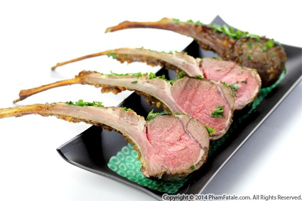 Apricot Roasted Rack of Lamb Recipe