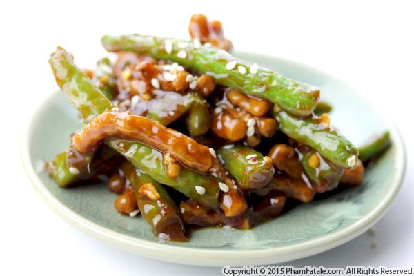 Spicy Stir Fried Beef and Green Beans Recipe