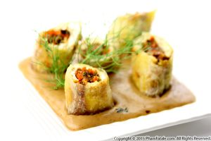 Tofu Roll Appetizers